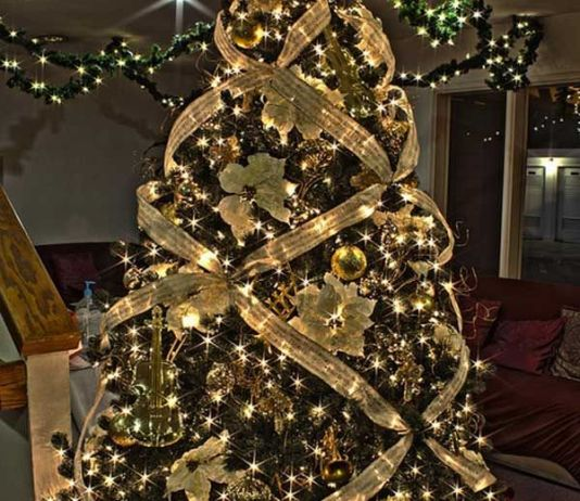 different ways to decorate a christmas tree its evalicious