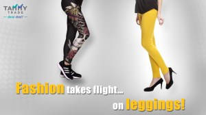 Fashion takes flight… on leggings!