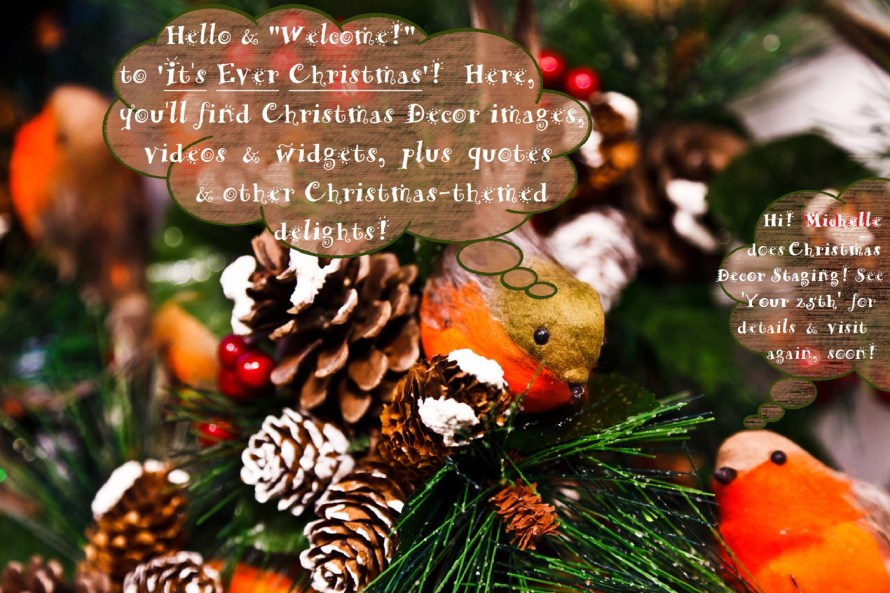 'It's Ever Christmas' - A Christmas Decor Styling & Staging service & blog
