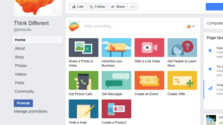facebook ad features | Itsfacile
