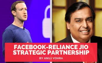 Facebook-Reliance Jio Strategic Partnership for Super-App