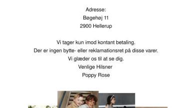 e975af5e40e Poppy Rose lagersalg i København