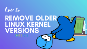 Remove Older Linux Kernel Versions In Ubuntu