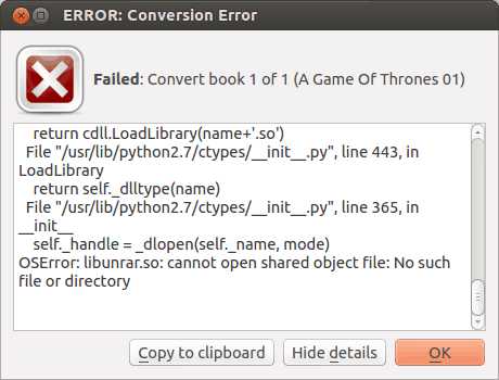 How To] Fix Conversion Error With Calibre - It's FOSS