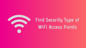 Check security type of wifi in Ubuntu Linux