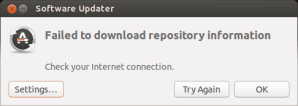 Failed to download repository information Ubuntu 13.04
