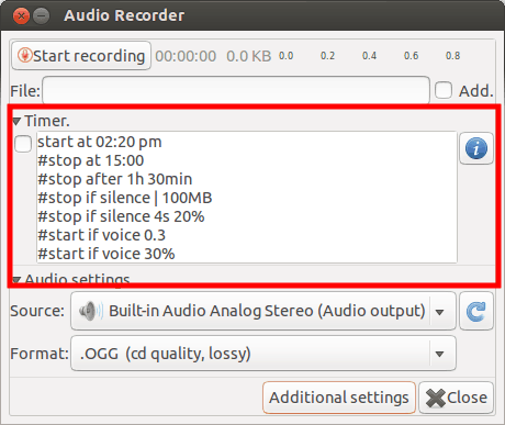 Audio Recorder: Record Audio In Ubuntu Linux
