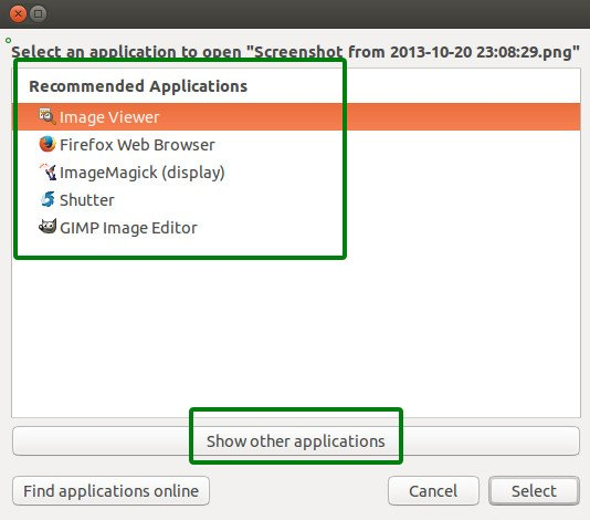How To Add An Application In The List Of Open With