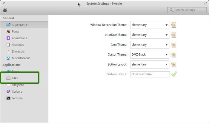 Disable single click in Elementary OS