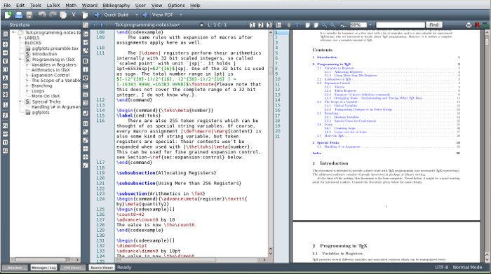 Use LaTeX in Ubuntu & Other Linux with Texmaker