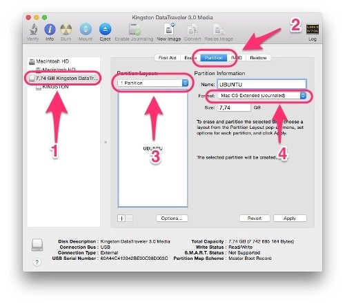 How To Create A Bootable Ubuntu USB Drive For Mac In OS X