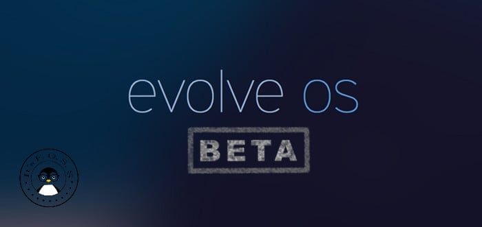 Evolve OS Beta released