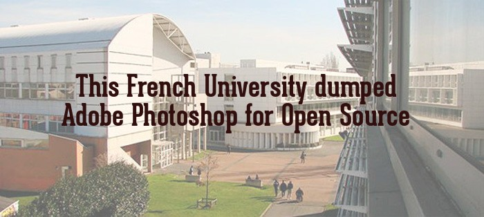 University Paris 8 dumped Adobe Photoshop for