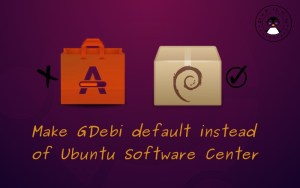 Make Gdebi default in Ubuntu
