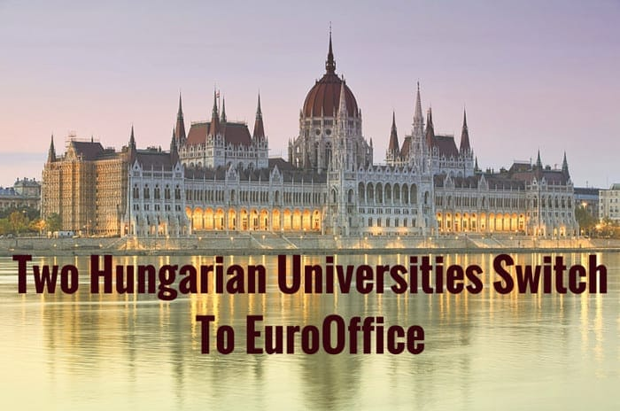 Two Hungarian Universities Switch To EuroOffice