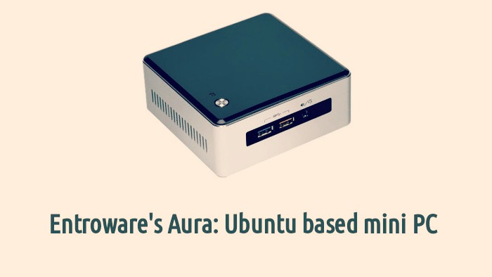 Ubuntu Based mini PC Aura
