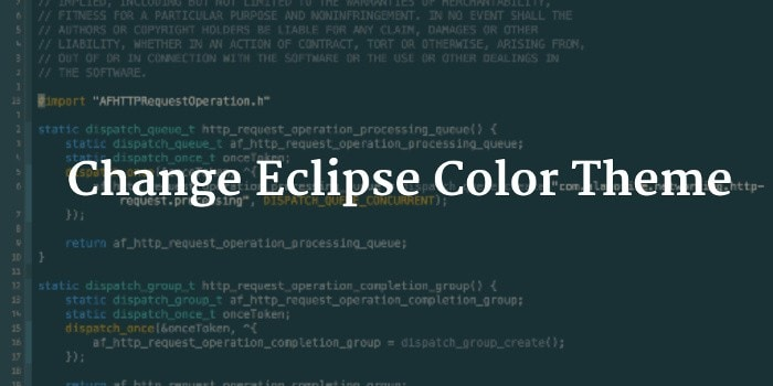 How To Change Eclipse Color Theme In Linux or Windows - It's FOSS