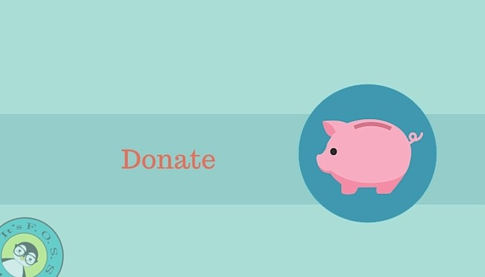 Donate to financially help projects