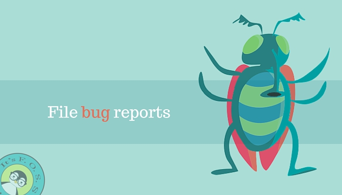 File a bug report to help Linux distributions