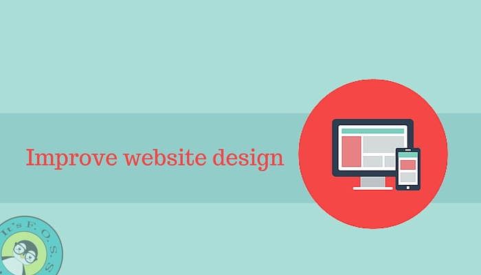 Improve web design