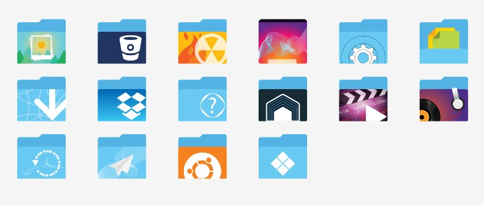 Xenlism Icons theme for Linux