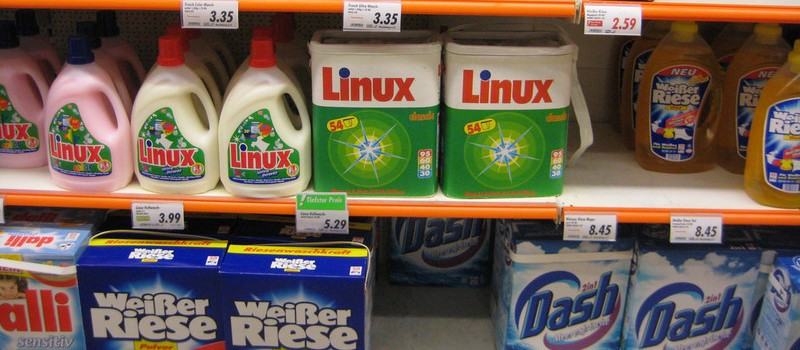 Linux washing powder