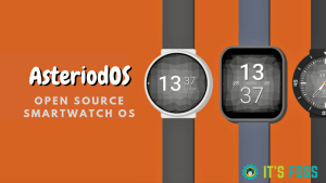 AsteriodOS is an open source smartwatch OS based on Linux