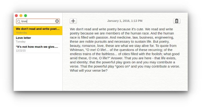 Notes Open Source note taking app