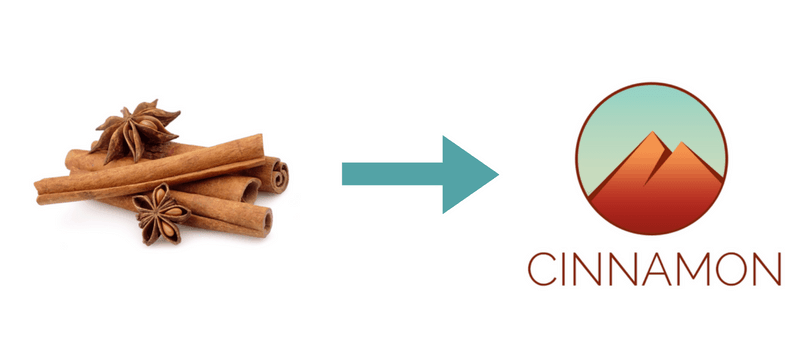 New logo of Cinnamon Desktop