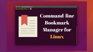 Buku: Command line bookmark manager for Linux