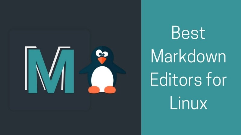 best Markdown editors for Linux