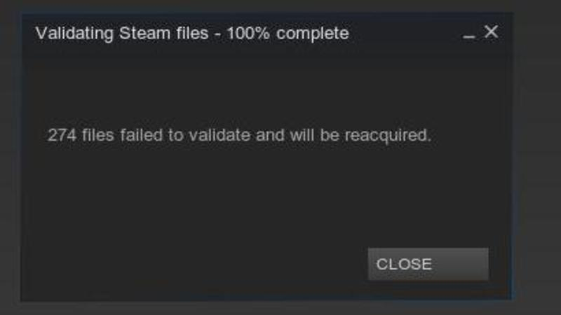 steam-validation-failure