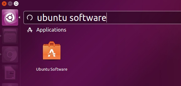 Run Ubuntu Software Center