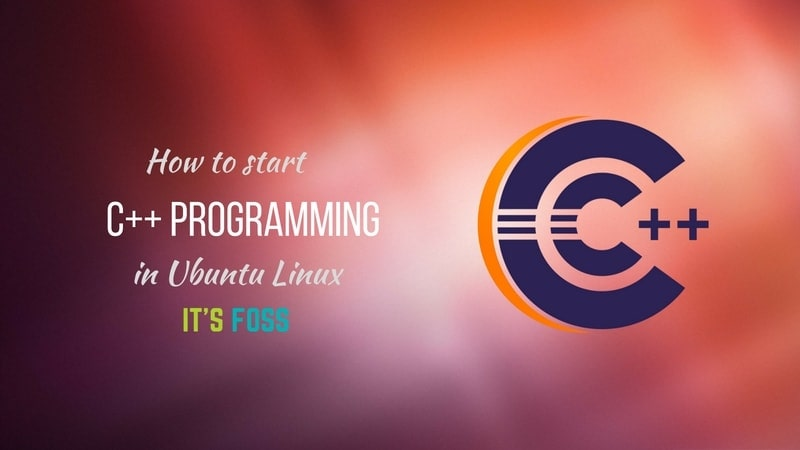 Run C++ programs in Ubuntu Linux
