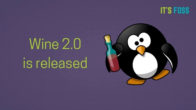 Wine 2.0 is released