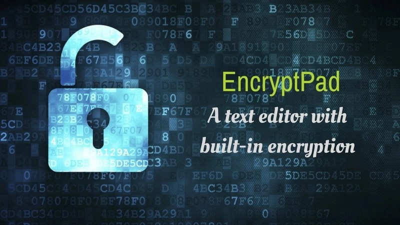 EncryptPad – Encrypted Text Editor For Linux