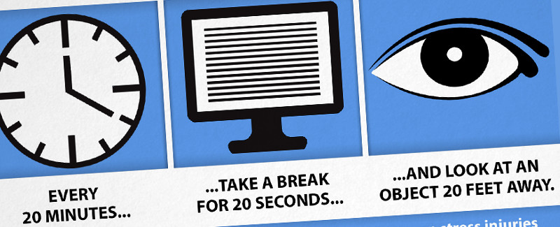 Tips to reduce eye strain
