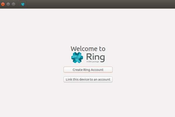 Ring app screen
