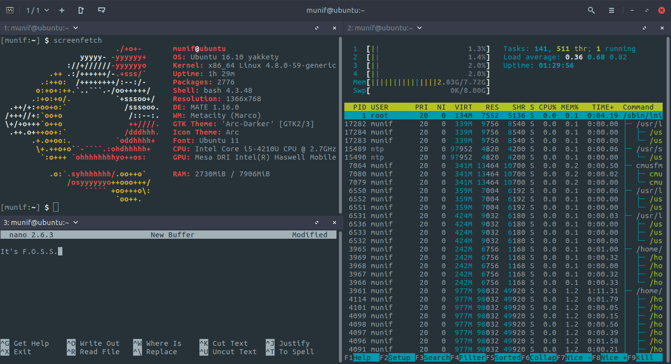 Tilix: Advanced Tiling Terminal Emulator for Power Users - It's FOSS
