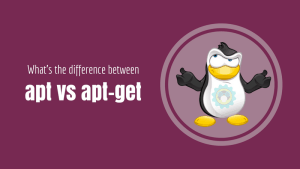 What's the difference between apt vs apt-get