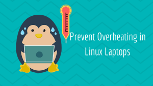 Prevent overheating in Linux laptops