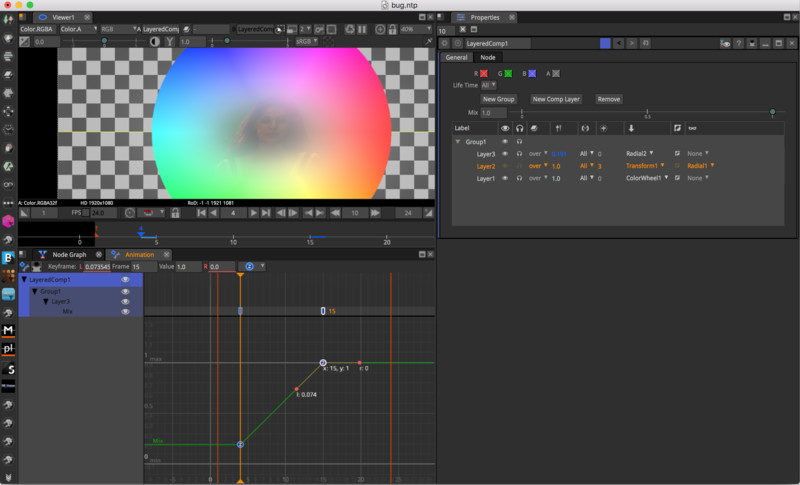 Natron is Linux alternatives to Adobe Aftereffects
