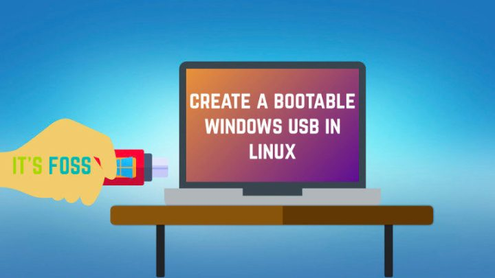 How to create bootable Windows 10 USB u Linux