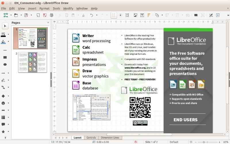 Top 10 Microsoft Visio Alternatives For Linux It S Foss