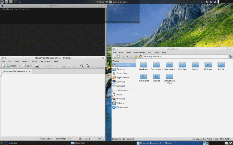 LXLE Linux Screenshot