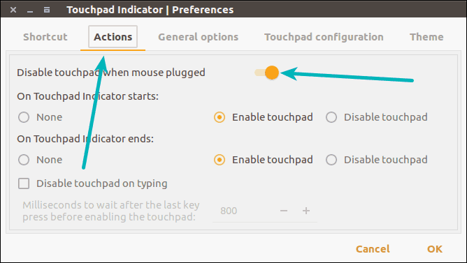 Automatically disable touchpad when mouse is plugged in Ubuntu