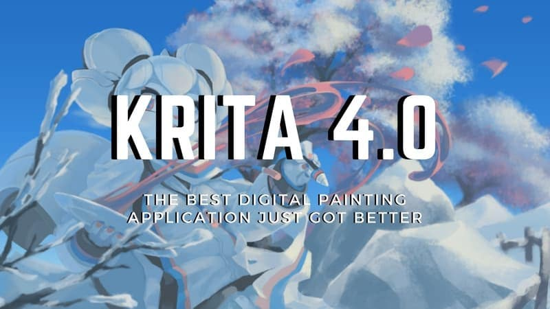Krita Version 4 0 Released With Improved Vector Tools - It's
