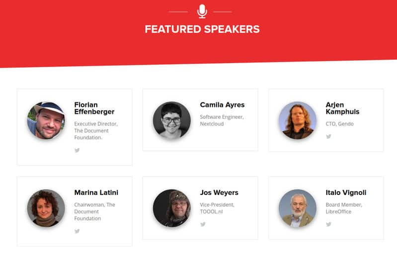 Featured speakers at OSCAL'18