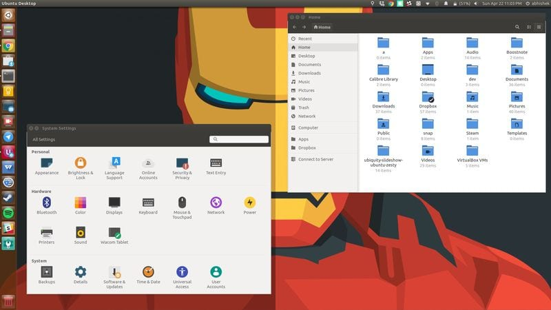 Papirus Icon theme for Ubuntu