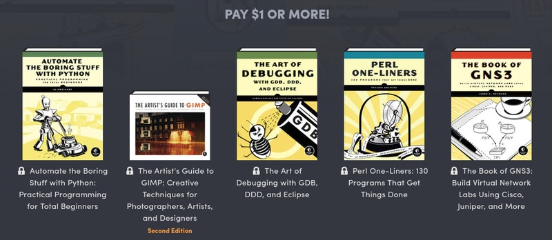 Get Premium Linux eBooks Worth $571 for $1 [Humble Bundle